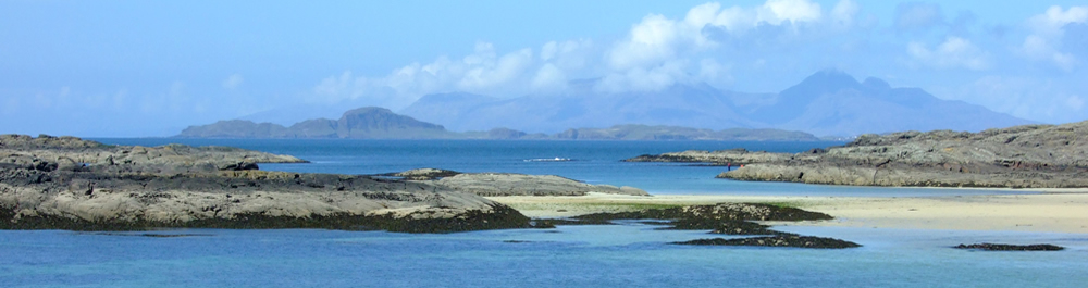 Beach at Sanna Ardnamurchan Scotland