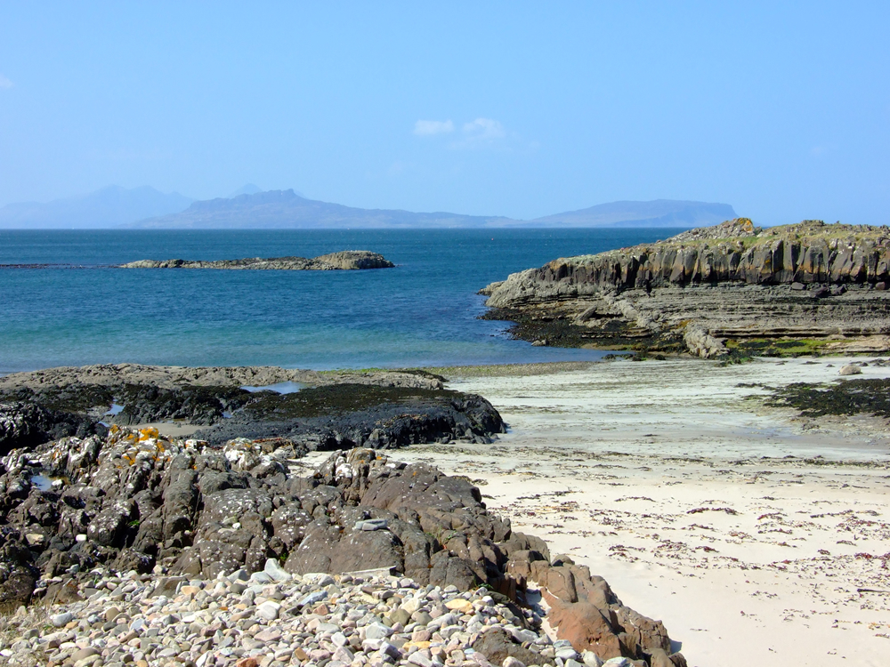 Beach near Air an Oir self catering Ardnamurchan