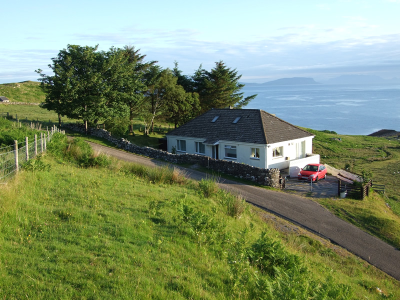 Air an Oir holiday house for adults only in Ardnamurchan Scotland